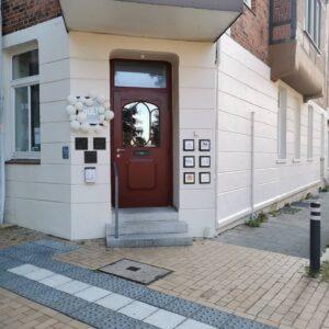 Eingang HOLY Kiel