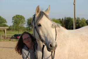 entspannt beim Pferd