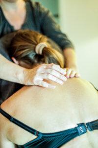 Rückenmassage Stuhl